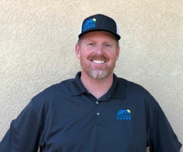 Jared Slusser Transform Power solar profile